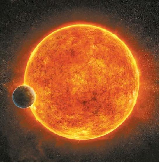 생명체가 살 수 있는 외계 행성의 상상도. [NASA]