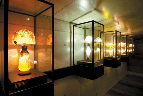 2층 '램프의 방' 모습.