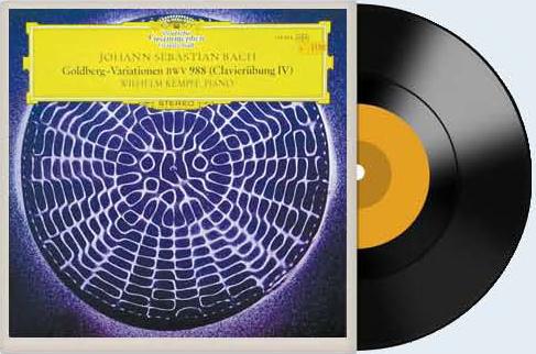 빌헬름 켐프가 1969년 피아노로 연주한 '골드베르크 변주곡.' 아리아의 분위기가 독특하다.