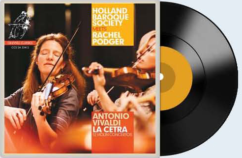 레이첼 포저의 비발디 '라 체트라' 연주 음반