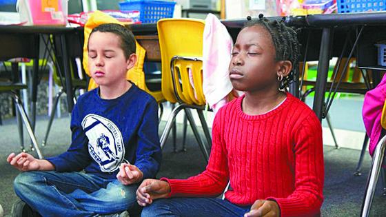 학생들의 감정 교육에 명상이 적극적으로 활용되고 있다. [사진 Mindful Schools 홈페이지]