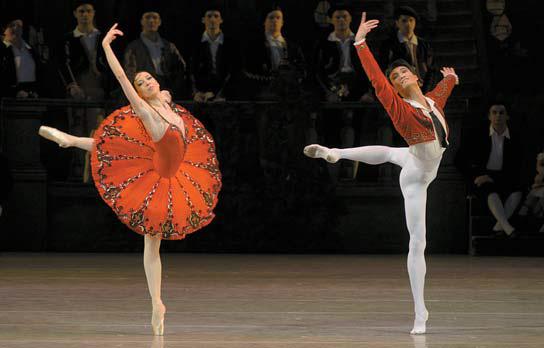 마린스키 발레단 '돈키호테' 공연 모습 Photo by Valentin Baranovsky ⓒ State Academic Mariinsky Theatre