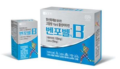 벤포벨은 활성형 비타민을 고함량으로 함유하고 있어 눈과 육체 피로 개선에 효과적이다.