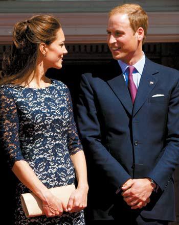 에르뎀의 옷을 즐겨 입는 케이트 미들턴 영국 왕세손빈.
