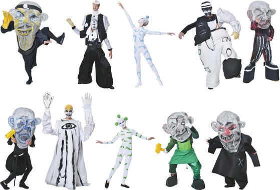 북유럽신화의 다양한 신과 난쟁이족, 거인족, 요정들을 아힘 프라이어식으로 형상화한 등장 캐릭터들