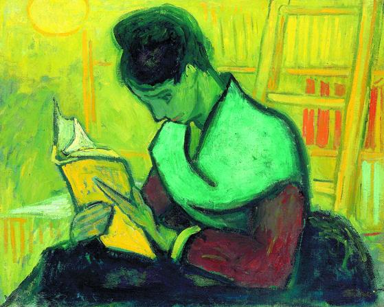빈센트 반 고흐 의 '소설을 읽는 사람' . 소설 독자는 여러 이점을 누리게 된다는 점이 과학적으로 밝혀지고 있다. [사진 크리스티]