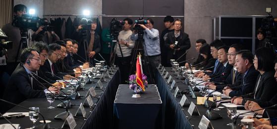 지난 1월 22일 서울 중구 롯데호텔에서 제3차 한중 환경협력 국장회의 및 제1차 한중 환경협력센터 운영위원회가 열렸다. [뉴스1]