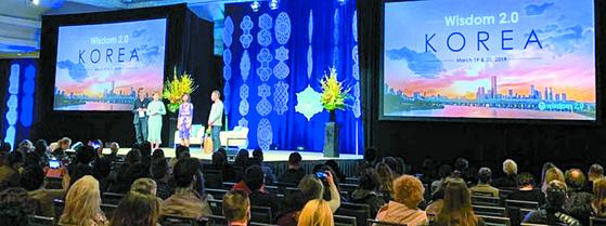 지난 3월 1~3일 미국 샌프란시스코에서 열린 제10회 '위즈덤 2.0' 콘퍼런스. 내년 3월 19~20일에는 서울에서 열릴 예정이다. [사진 배영대]