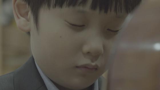 영화 '뷰티플 마인드'의 스틸컷. 10살 피아 니스트 김건호.