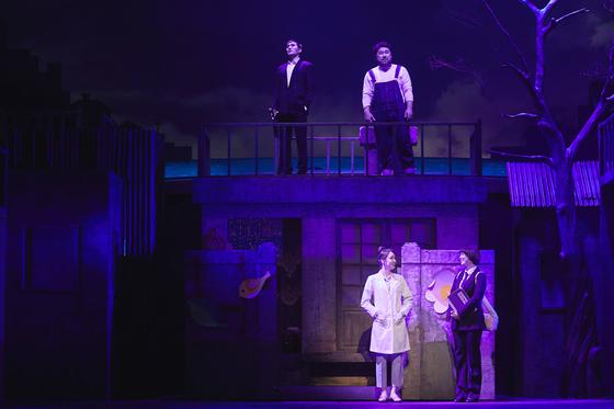 뮤지컬 '신과 함께'는 6월 29일까지 LG아트센터에서 공연된다. [사진 서울예술단]
