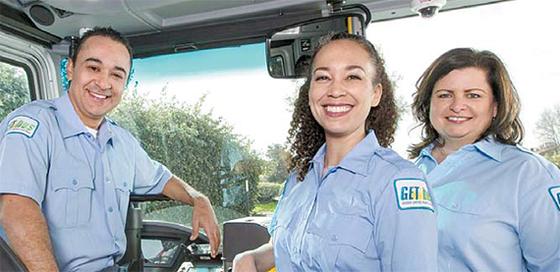 캘리포니아의 골든엠파이어교통(GET)은 2013년 미국 질병통제예방센터(CDC)의 직장 건강프로그램을 도입해 기사들의 건강을 크게 개선했다. [사진 GET]