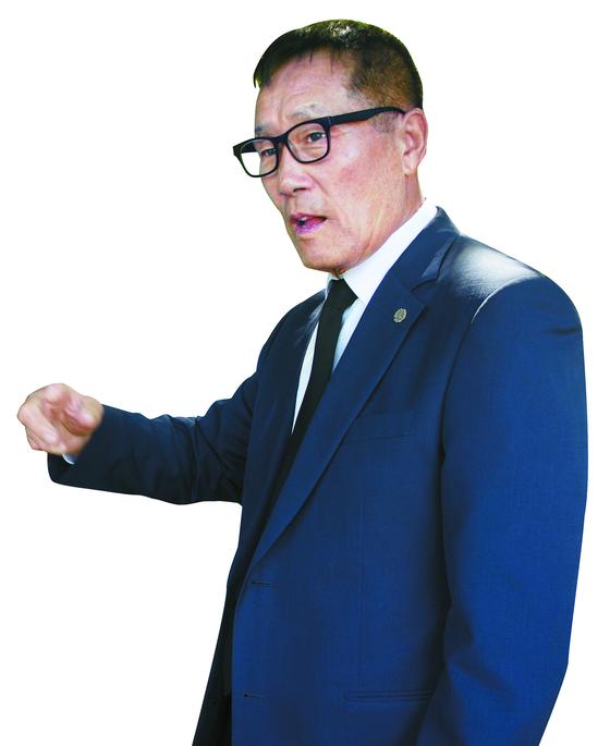 박훈규 전 고상돈기념사업회 이사장. [사진 고상돈기념사업회]