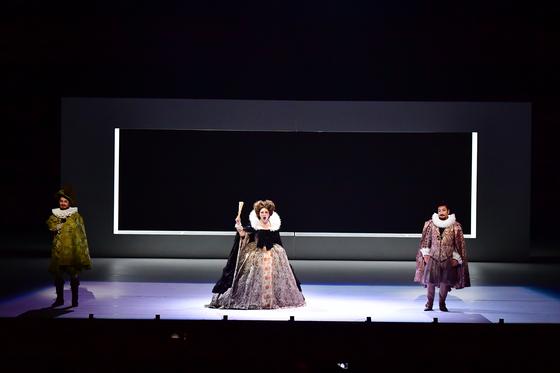 국립오페라단 신작 '마하고니 도시의 번영과 몰락'은 예술의전당 오페라극장에서 11일부터 14일까지 공연된다. [사진 국립오페라단]