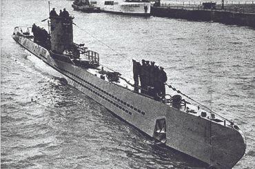 2차 세계대전 당시 독일 잠수함. [중앙포토]