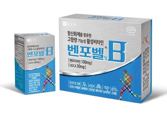 고함량 기능성 활성비타민 '벤포벨' 제품사진
