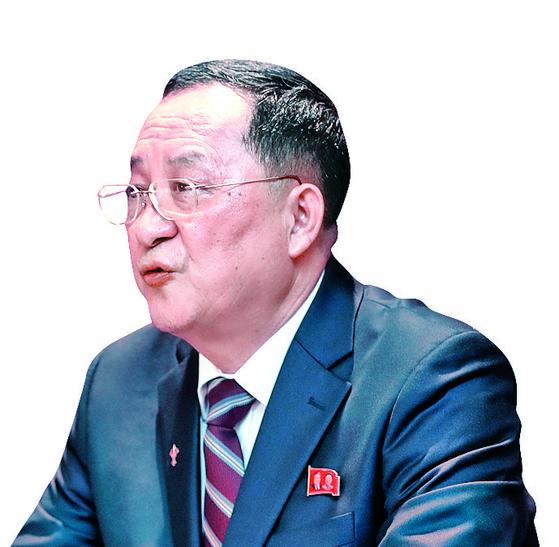 이용호 북한 외무상. [연합뉴스]