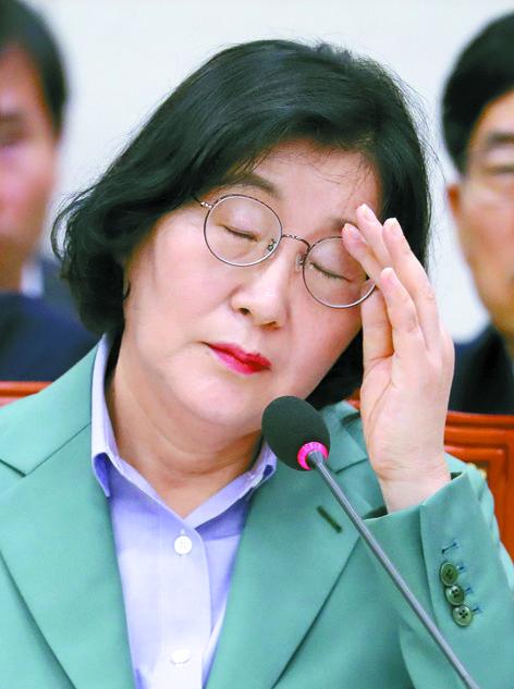 30일 국회 인사청문회에 출석한 이정옥 여성가족부 장관 후보자. [연합뉴스]