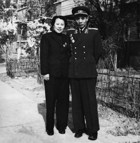 우신취안은 중국지원군의 첫번째 공세에서 우리 국군과 미군을 곤혹스럽게했다. 1982년 봄, 베이징. [사진 김명호]