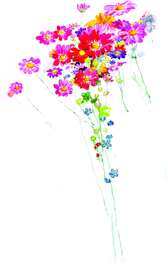 가을걷이가 대충 끝난 부부의 옥상엔 꽃들도 끝물이다. 한번 뽑아먹고 다시 심은 쪽파는 다시 쑥쑥 자라고 있다. 부추·라벤더·루콜라·어성초·고수... 내년 봄이면 다시 화분 여기저기서 싹이 틀 테다.