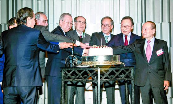 한미기업인친선포럼 창립 1돌 기념식