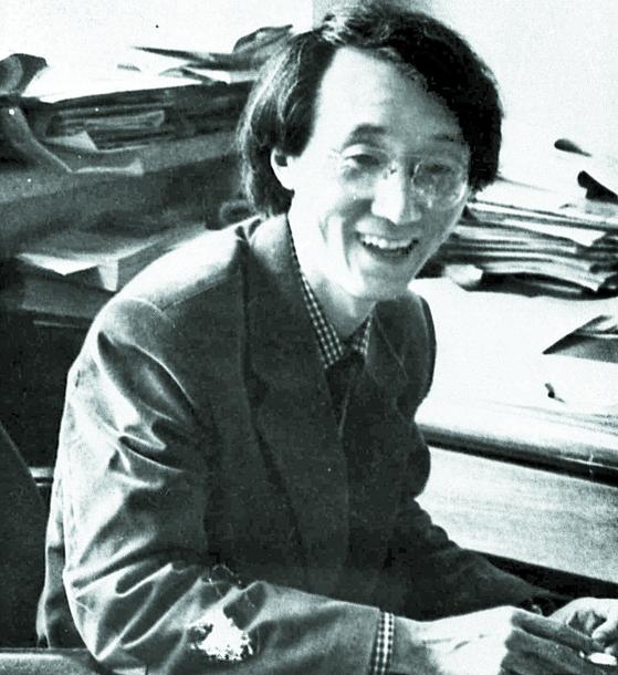 젊은 시절의 마광수 연세대 교수. [중앙포토]