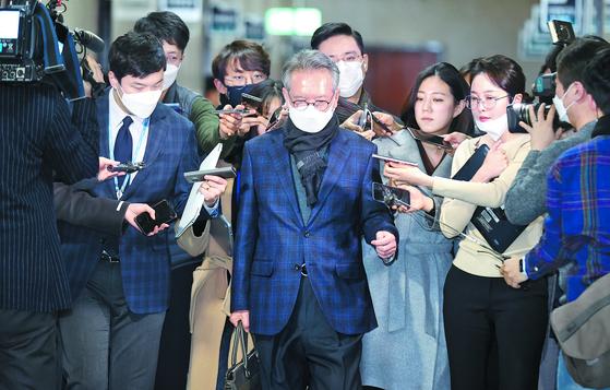 김형오 미래통합당 공천관리위원장은 공천 논란으로 13일 사퇴했다. 임현동 기자