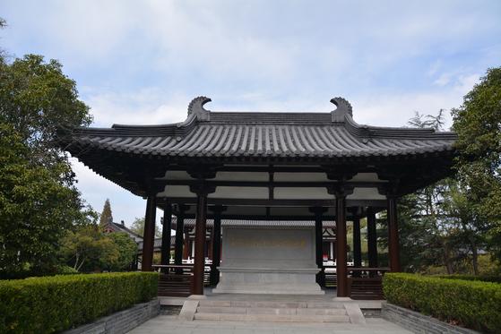 중국 양저우에 세워진 최치원 기념관. 최치원은 당나라의 외국인을 위한 과거인 빈공과에 수석 합격했다. [사진 홍성림]