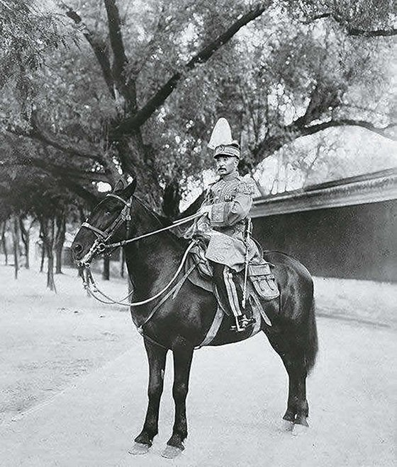 장쭤린은 1912년 3월부터 1928년 말까지 집권한 중화민국 베이징 정부의 마지막 국가원수였다. 총통보다는 대원수 직함을 좋아했다. 1928년 1월 즈진청(紫禁城·자금성). [사진 김명호]
