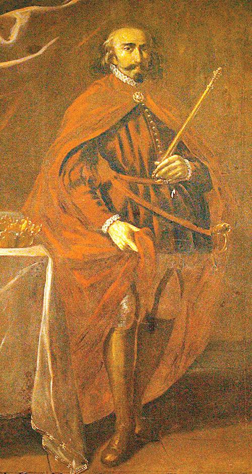 스페인 왕국을 건설한 바스크족 대왕 산초 3세 초상화. 17세기 후안 리치(Juan Rizi) 그림. [위키피디아]
