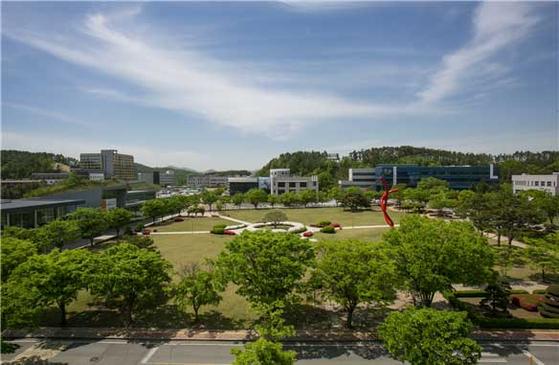 한국기술교육대학교 전경