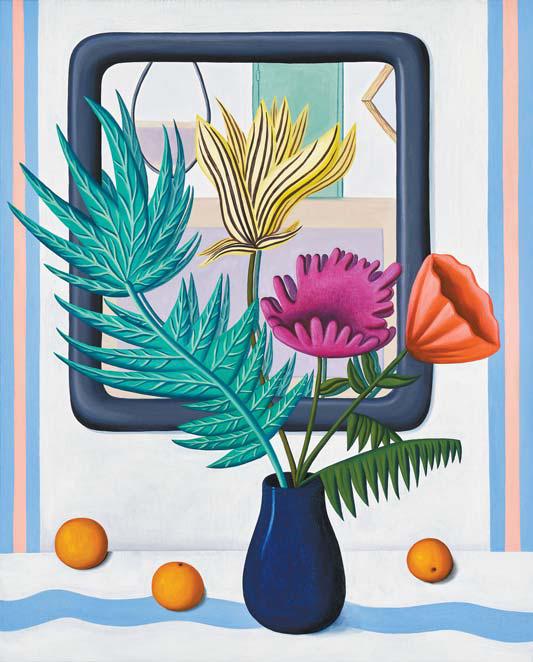 'Silvestre'(2020), Oil on canvas, 106.7x86.4㎝. [사진 제이슨함 갤러리]