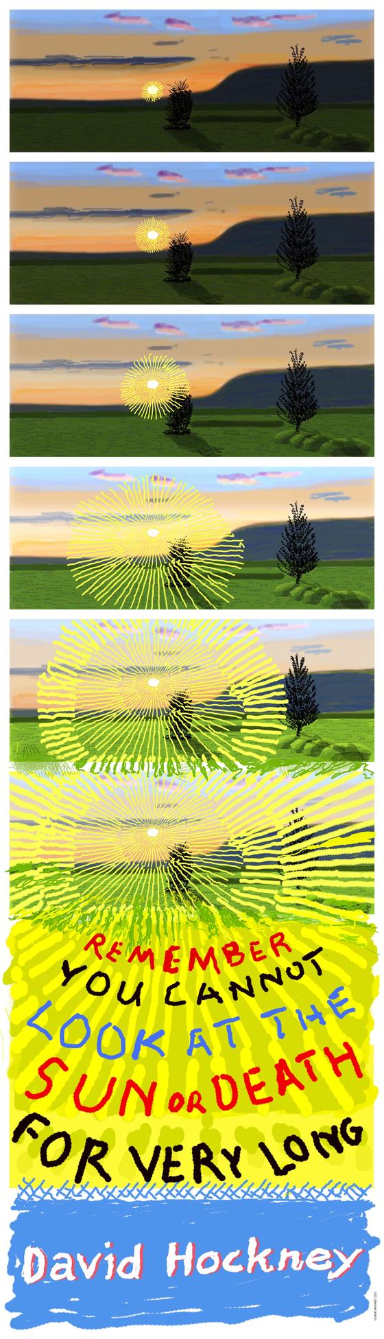 데이비드 호크니_기간 한정 포스터 (c)David Hockney