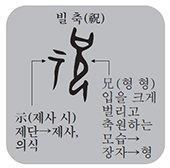 [한 週 漢字] 祝融(축융)-'주룽' 아닌 '축융'으로 읽어야