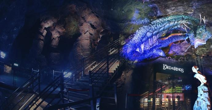 광명동굴 내부 모습. 사진=광명도시공사