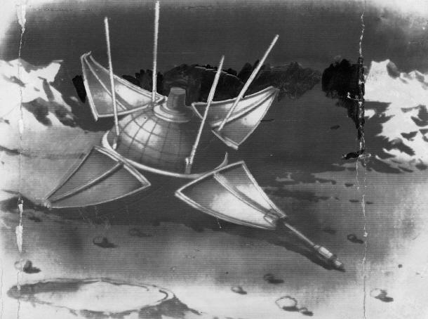 소련 무인 탐사선 '루나 9호' 달 착륙