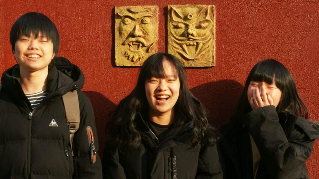 왼쪽부터 박건식(연출·편집), 정하림(기획·연출·편집), 이지연(촬영·연출·편집)