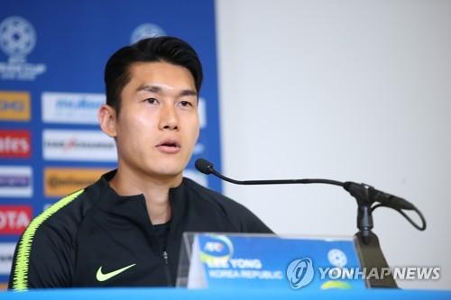 축구대표팀 수비수 이용