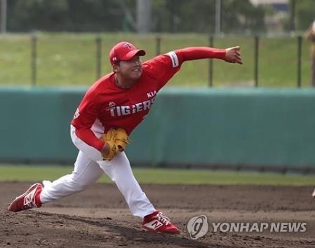 KIA 타이거즈 좌완 김기훈