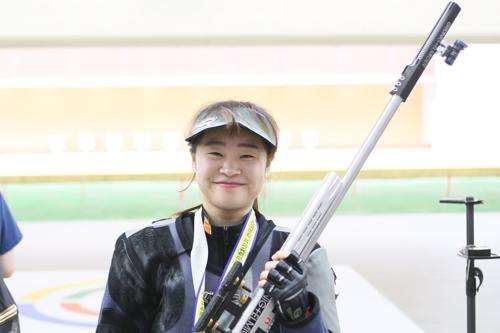 소총 복사 신기록을 수립한 전길혜