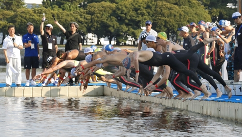 도쿄올림픽 오픈워터 테스트 경기
