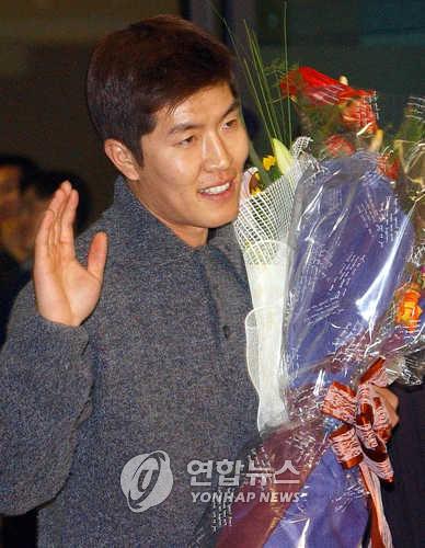 2001년 메이저리그에서 뛰던 김병현
