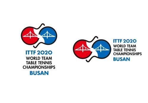 2020 부산 세계탁구선수권대회 엠블럼.