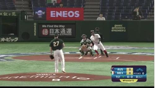 멕시코 존스, 선두타자 초구 홈런
