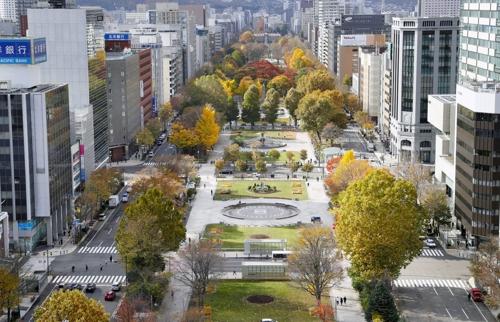2020년 도쿄올림픽 마라톤 출발점으로 유력한 삿포로 오도리 공원