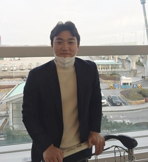 스프링캠프 떠나는 NC 김태진