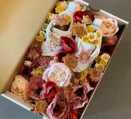 김광현이 받은 꽃신.