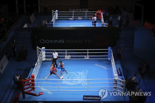 무관중으로 치러지다가 17일 중단된 도쿄올림픽 복싱 유럽 예선