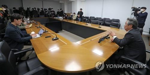 도쿄올림픽 관련 IOC 화상회의 내용 이야기하는 이기흥 회장