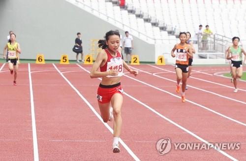 한국 육상의 희망 양예빈