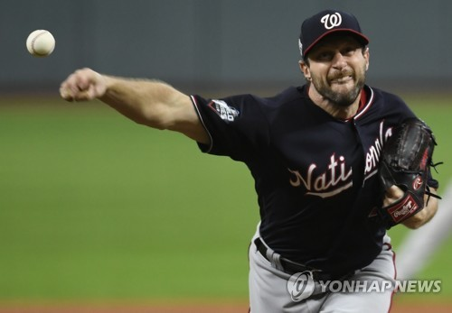 MLB 워싱턴의 에이스 셔저